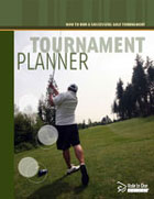Hole In One International Golf Tournament Planner Sample Cover
