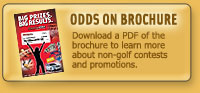 Odds On Promotions Brochure - Learn about Odds On Contest Insurance